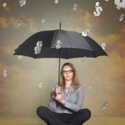 sikre ægtefælden ved konkurs